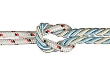 Free Ropes Tied With Knot Royalty Free Stock Photography - 16608137