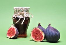 Free Figs And Jam Stock Image - 16608151