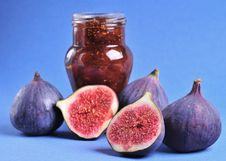 Free Figs And Jam Royalty Free Stock Image - 16608216