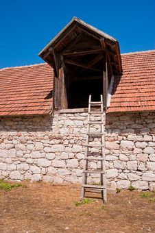 Free Stable And Ladder Stock Image - 16608831