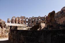 Coliseum El Jam Royalty Free Stock Image