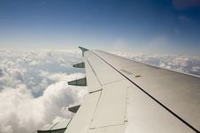 Free Wing Of A Plane Royalty Free Stock Photography - 16609977