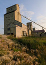 Free Old Grain Elevator In The Prairies Stock Photography - 16611922