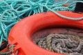 Free Lifebelt And Ropes Royalty Free Stock Photos - 16613098