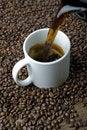 Free Pouring Coffee Stock Photos - 16619023
