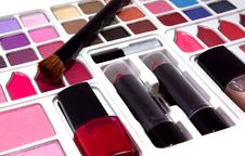 Free Professional Make-up Tools Stock Photos - 16610563