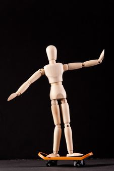 Free Skateboarding Royalty Free Stock Photo - 16610635