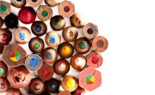 Free Colored Pencils Background Stock Image - 16610661