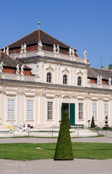 Free Lower Belvedere Palace Stock Photo - 16611800
