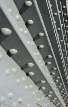 Free Steel Construction Fastened With Rivets Stock Photography - 16611972