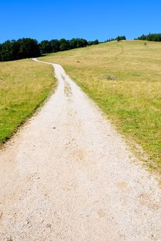 Free Gravel Road On Range No.1 Stock Photography - 16611992