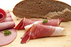 Raw Ham Royalty Free Stock Photo