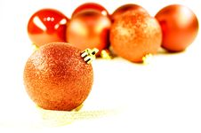 Free Red Balls For Christmas Stock Photography - 16612562