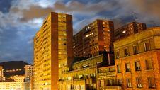 Free City At Night No.1 Royalty Free Stock Images - 16612579
