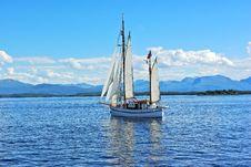 Free Twin Mast Sailboat On The Sea Stock Photo - 16612680
