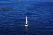 Free Sailboat On The Sea Stock Photography - 16612692