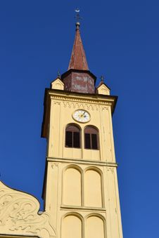 Free Yellow Church Royalty Free Stock Photography - 16612847
