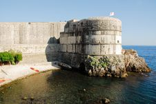 Free Wall Of Dubrovnik Royalty Free Stock Images - 16612949