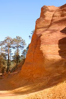 Red Sandstone Royalty Free Stock Photos