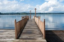 Free Pier At Lllanquihue Lake Stock Images - 16613024