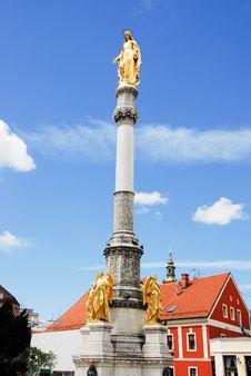Free Holy Mary S Column Royalty Free Stock Photography - 16613427