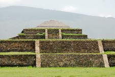 Teotihuacan, Sun Pyramid Royalty Free Stock Photo