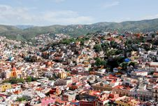 Free Guanajuato, Colorful Town, Mexico Royalty Free Stock Image - 16614026