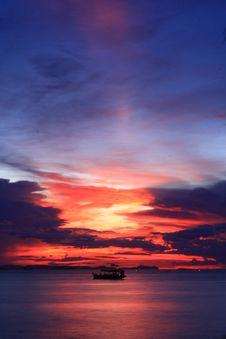 Free Sunset Royalty Free Stock Photography - 16614297