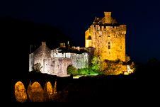 Free Eilean Donan Castle Stock Photography - 16614392