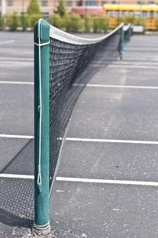 Free Neighborhood Tennis Court Royalty Free Stock Images - 16614849