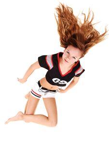 Free Soccer Girl. Stock Images - 16615394