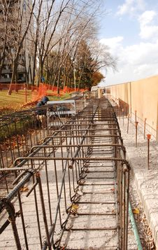 Free Construction On The Lake. Stock Image - 16615441