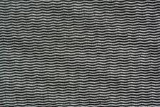 Black Fabric Weave Stock Photography