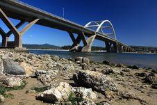 Free Waldport Bridge Stock Images - 16615994
