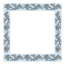Free Hollow Frame With Textured Ice Pattern Royalty Free Stock Images - 16616939
