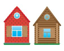 Free Two Buildings Royalty Free Stock Images - 16617279