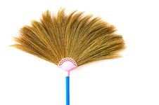 Free Broom With White Background Stock Photography - 16617602
