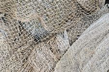 Free Fishing Nets  Maintenance Stock Photography - 16617752