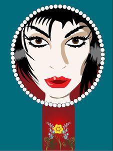 Free Mirror Royalty Free Stock Photos - 16619058