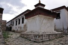 Free A Tibetan House Royalty Free Stock Photos - 16619918