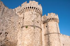 Free Wall In Rhodes Island Royalty Free Stock Photography - 16620487