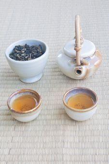 Free Tea Set Royalty Free Stock Photo - 16620555