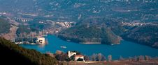 Free Lake Of Toblino Castle Stock Photography - 16620622