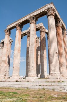 Free Temple Of Olypian Zeus Stock Images - 16620724