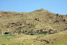 Countryside Of Nusayin, Mardin. Royalty Free Stock Photo