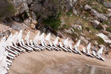 Free Beach At Rhodes Island Stock Photo - 16620880