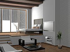 Free Living Room Stock Image - 16621281