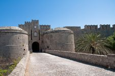 Free Wall In Rhodes Island Stock Image - 16621641