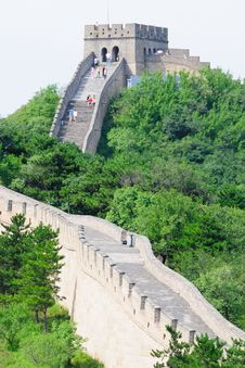 Great Wall No.9 Royalty Free Stock Photography