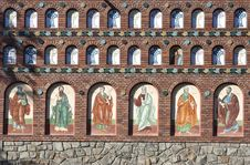 Free Orthodox Church Wall Royalty Free Stock Images - 16622909